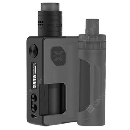 Vandy Vape Pulse X 90W Squarket Kit E Cigarretarako - BLACK