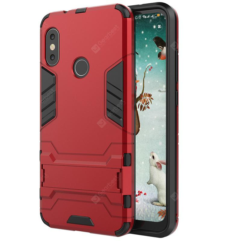 ASLING 2 in 1 Stand Cover Case for Xiaomi A2 Lite
