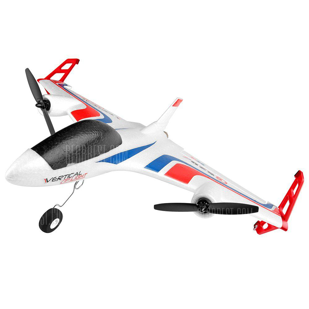 XK X520 Vertical Take-off Landing Delta Wing RC Aircraft - WHITE STANDARD EDITION WITH X8 REMOTE CONTROLLER