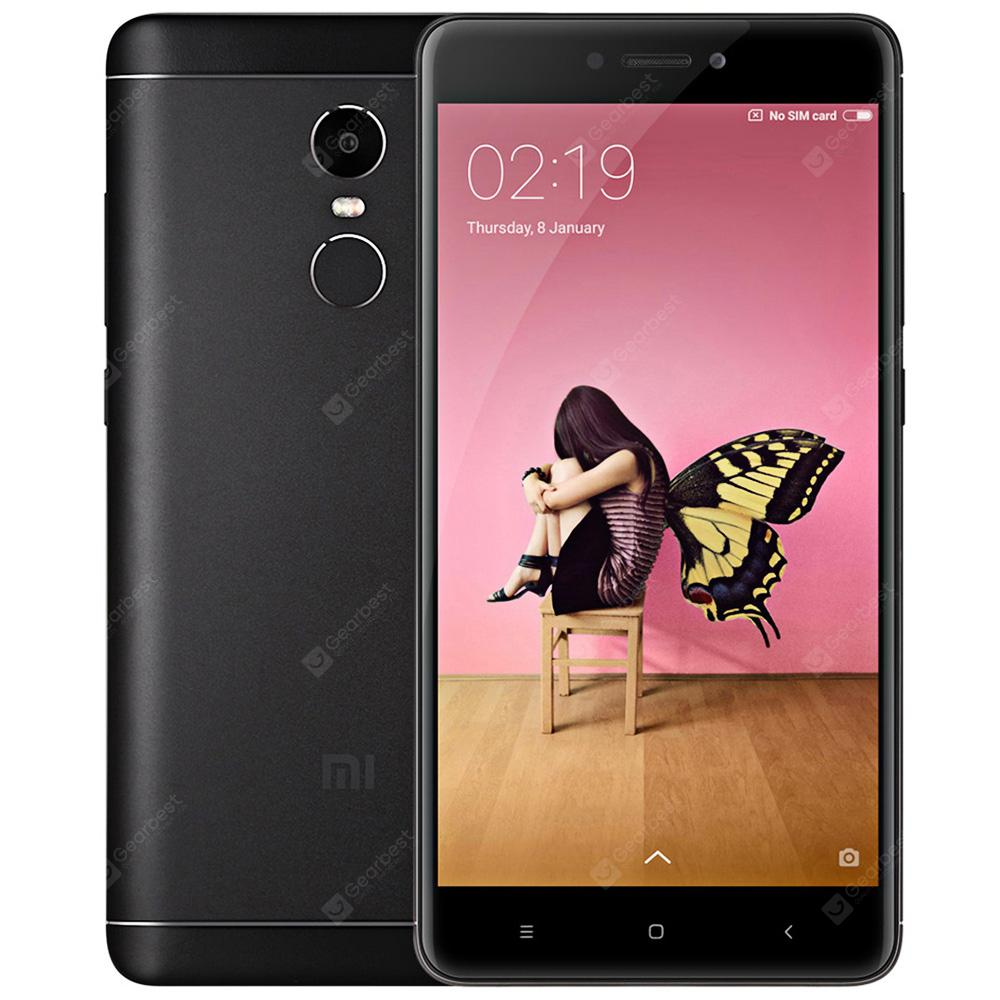Xiaomi Redmi Qeyd 4X 4G Phablet International Version ACK BLACK