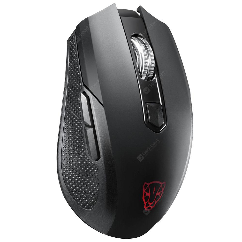 MOTOSPEED BG50 2.4GHz / Bluetooth երկակի ռեժիմ Wireless Mouse - BLACK