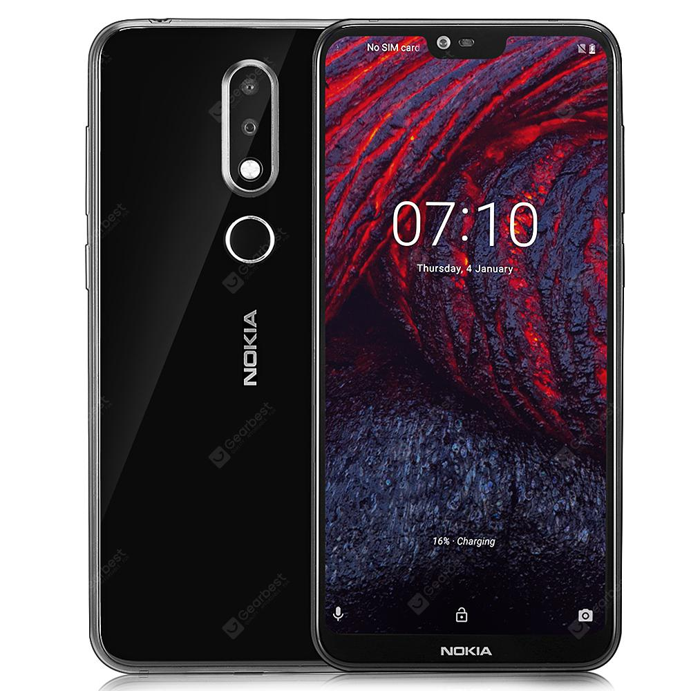 X6 Nokia (Nokia 6.1 Plus) 4G Фаблет International Version ЧОРНЫ