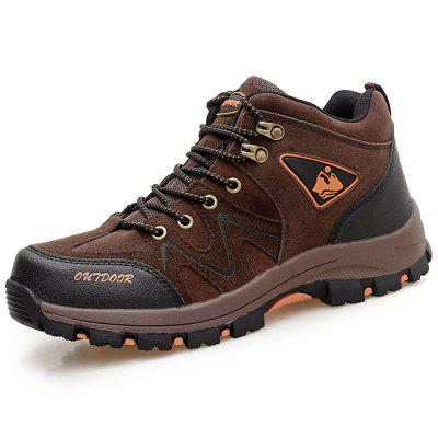 Heren Lace Up Outdoor Bergbeklimmen Sportschoenen Sportschoenen Sneakers