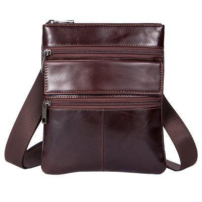 MVAPE Leisure Retro Leather Wear-resistant Crossbody Men Bag