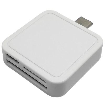 Square Type-C / TF / SD Card Reader 128G