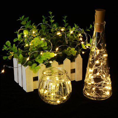 2m 20-LED Wijnfles String Light 10PCS