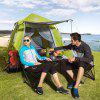 HEWOLF Automatic Tent Bilayer for Outdoor Use - CHARTREUSE
