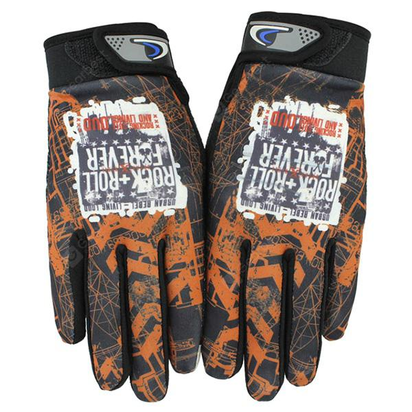 1247a2c673e Pair of Unisex Full Finger Touch Screen Cycling Gloves -  5.25 Free ...