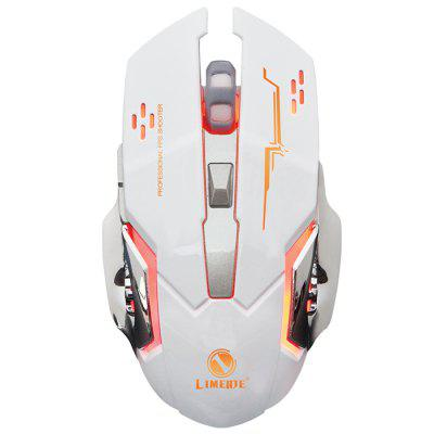LIMEIDI X1 2.4GHz Wireless Gaming Mouse Backlight