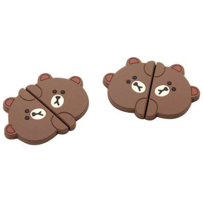 Cartoon Pattern Car Door Protector Side Edge Scrape Sticker 2pcs / Set