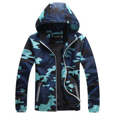 Spring and Autumn Youth Camouflage Jacket