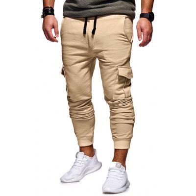 Men Stylish Outdoor Solid Color Casual Pants