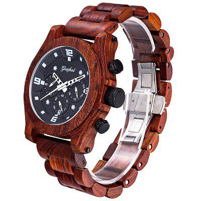 GEZFEEL Sports Waterproof Quartz Watch for Men