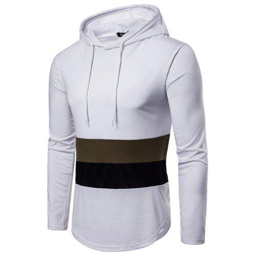 Long Sleeve Joint Casual Athletic Thin Sweatshirt Pullover Hoodie for Men -   21.48 Free Shipping 5d4c5b0b4861