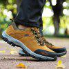 Outdoor Sports Hiking Non-slip Wear-resistant Running Shoes for Man - LIGHT BROWN
