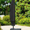 Outdoor Waterproof Parasol Oxford Cloth Umbrella Cover - BLACK