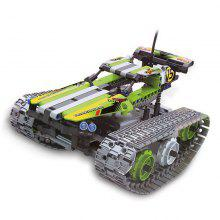 Remote Control Splicing and Inserting Building Block Special Vehicle