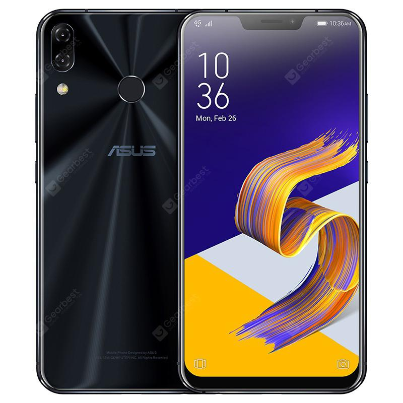Gearbest ASUS zenfone 5Z 4G Phablet Global Version - BLACK
