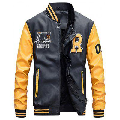 Trendy Classic Comfortable Warm Slim Baseball Jackets