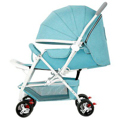 Zhierle Baby Foldable Two-way Push Stroller