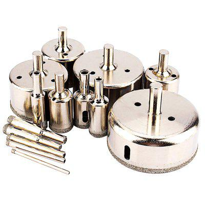 Alloy Glass Hole Opener 14PCS