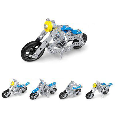 Motorcycle Series Puzzle Toy Set