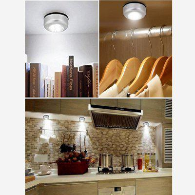 6pcs LED wireless Night Light Stick-on Lampă de atingere pentru caroserie Corpuri de intrare în sală