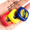 Portable Mini Tape Measure Keychain - MULTI