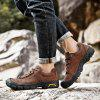 Fashion Male Breathable Hiking Shoes for Outdoor - DEEP BROWN