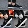 Unisex Fashion Lightweight Low Sneakers for Men - BLACK