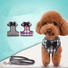 Teddy Bom Small Dog Vest Type Traction Rope Chest and Back Cloth