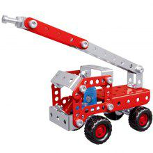 4 in 1 Fire Truck Series Puzzle Toy