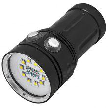 A10 Professional Waterproof Portable Flashlight