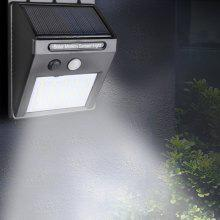 20-LED Solar Sensor Wall Light