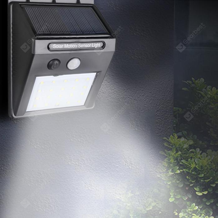 20 LED Outdoor Wireless Solar Light - Bl