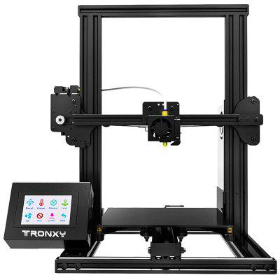 Tronxy XY - 2 Quick Assembly Aluminum Alloy 3D Printer - BLACK EU PLUG