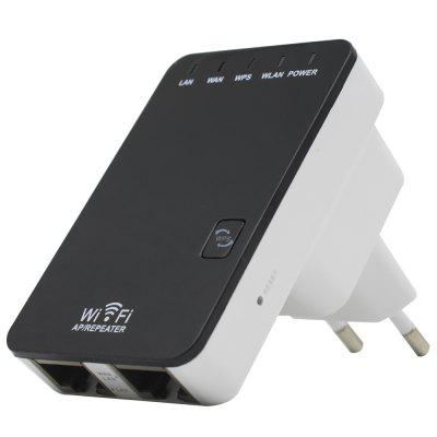 300Mbps WiFi Repeater Extender Wireless-N Mini Router with EU Plug