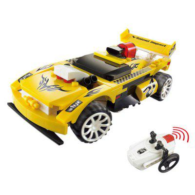 Small Particle Building Blocks Remote Control Vehicle Childern Toy 89pcs