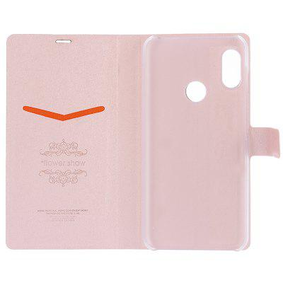 ASLING PU Leather Stand Card Holder Full Body Flip Protective Case for Xiaomi Redmi 6 Pro