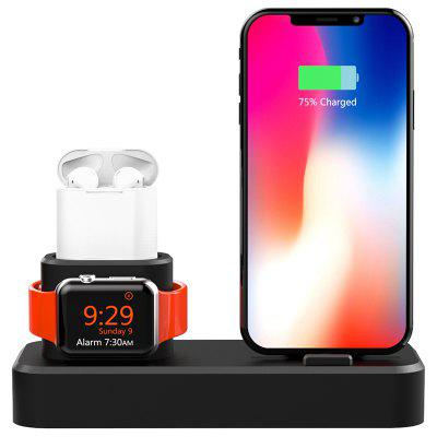 AJGJZJ001 Charging Stand Holder for iWatch / iPhone / Airpods