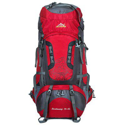 HUWAIJIANFENG 80L Large Storage Outdoor Backpack for Hiking Mountaineering