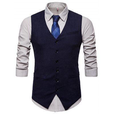 Fashionable for Business / Wedding Corduroy Waistcoat