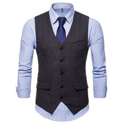 Fashionable for Business / Wedding Simple Waistcoat