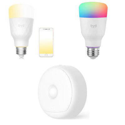 Yeelight USB Night Lamp / Smart Bulb Dual Color Temperature / RGBW