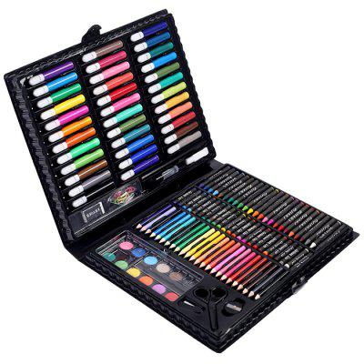 150pcs Kid Art Painting Set Crayon Watercolor Pen Pencil Oil Pastel