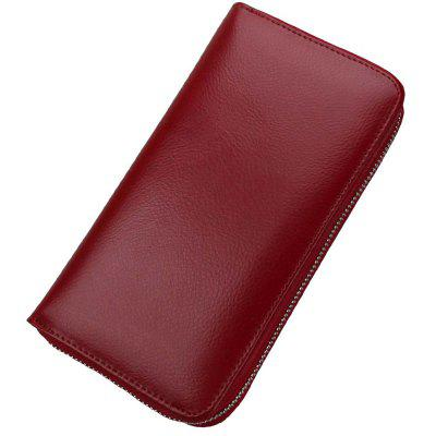 Large Carpacity Long Card Wallet