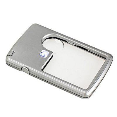 Square LED Card Acrylic Magnifier