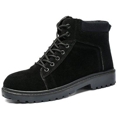 Stylish Lace-up Wear-resistant Breathable Men Boots