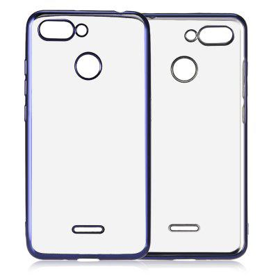 Luanke Thin Electroplate Plating TPU Case for Xiaomi Redmi 6