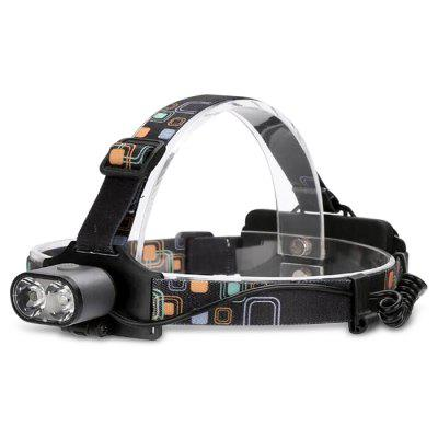 20W 800lm 6000K 2 XML - T6 LED Headlamp